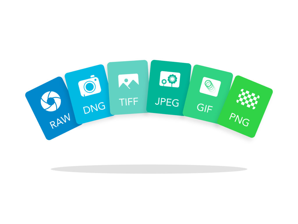 Image File Formats: Difference Between RAW, DNG, TIFF, GIF